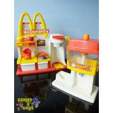 Brinquedo Lanchonete Mc Donalds Mattel 1993 Raro Tem Estrela