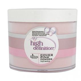 Ez Flow High Definition Powder False Nails, Cover Pink, 4 Ou