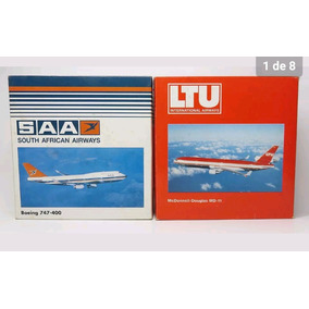 Combo Maquetes Boeing 747 South African Airways + Md-11 Ltu