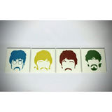Cuadros Tripticos Modernos The Beatles Rock And Roll