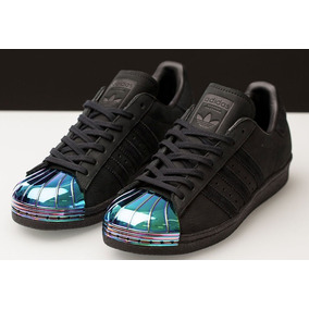 adidas Superstar 80s Metal Toe Negros Gamuza