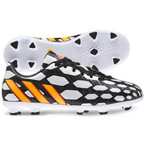 Tacos Adidas Battle Pack Absolado Fg Brasil 2014 *de Niño*