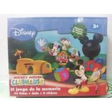 Juego De La Memoria Mickey Mouse Club House +3 Años Z.devoto