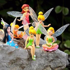 Sininho Tinker Bell 6 Bonecas Aventura No Mundo Das Fadas