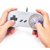 Mando Control Super Nintendo Usb Para Pc Y Mac Snes Joystick