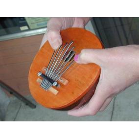 Coconut Gourd Kalimba Thumb Piano 7 Nota Sintonizable