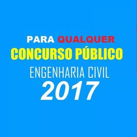 Matérias Engenharia Civil Concursos 2017