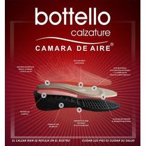 Zapato Botello N°39 Pie Delicado Línea Confort Cuero, Charol