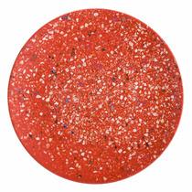 Set De 6 Platos Durables 9 Color Rojo