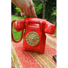 Antiguo Telefono En Baquelita Ericsson De Pared Funciona