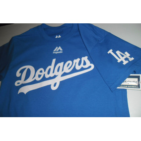 Playera Mlb Los Angeles Dodgers Majestic Envio Gratis