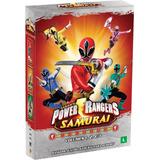 Power Rangers - Samurai - Volumes 1, 2 E 3 - 3 Dvds