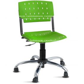 Cadeira Sigma Brasil Premium Verde Limão Plástica