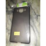 Funda Nokia Lumia 950 Silicona Gris Humo