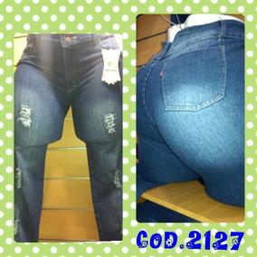 Pantalones Blue Jeans Dama Sexy A La Moda Tallas Plus Xxxl