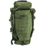 Mochila Maleta Tactica Militar 60 Litros Verde D3055