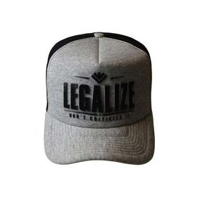Bone Trucker Legalize - Acessórios da Moda no Mercado Livre Brasil f1fd05d5ce3
