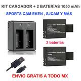 Set Cargador +2 Baterías 1050 Mah Eken Y Más Envío Gratis