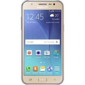 Celular Samsung Galaxy J5 16gb Dourado Excelente Usado