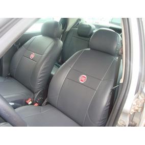 Capa 100% Couro Ecologico Fiat Uno Smart 2002 A 2006 Brinde