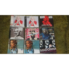 Cd Albums De Madonna Nacionales E Importados