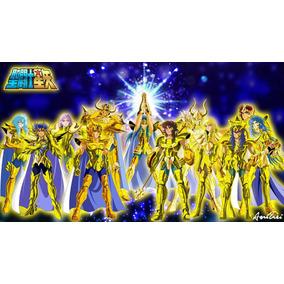 Cosplay Cavaleiros Do Zodiaco As 12 De Ouro Pepakura Pdo