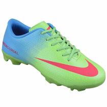 Chuteira Campo Nike Mercurial Vortex Cristiano Ronaldo Cr7