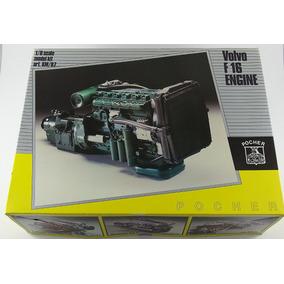 Pocher Motor De Caminhão Volvo F16 1:8 Novo! Perfeito! Senna