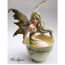 Figura De Hada Amy Brown Modelo Green Tea Fairy