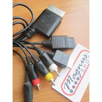 Cable Audio Y Video Universal Para Xbox 360 Wii Y Ps3 Rca