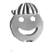 Pingente Menino  Smile Prata 925 Legítima C/  Caixa Veludo
