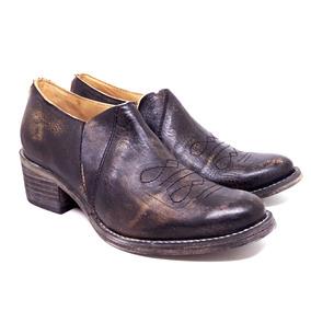 Zapatos Texanas Cuero Mujer Botas Maggio Rossetto