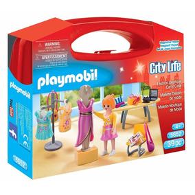 Playmobil Boutique De Moda Maletin 5652 City Life Educando