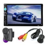 Radio Auto 2 Din Mirror Link+camara Retroceso+comando Ml2334