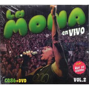 La Mona Jimenez En Vivo Vol 2 Cd + Dvd Cd N°86 Los Chiquibum