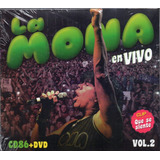 La Mona Jimenez En Vivo Vol 2 Cd + Dvd Cd N°86 Los Chiquibum