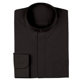 Camisa Dress Shirt Mao Negra Negro No - Xl
