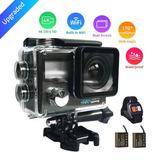 Halocam S200 Camara Accion 4k/30fps+2baterias+control+wifi
