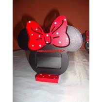 Souvenirs Portaretrato Mickey Mouse Y Minnie Mouse.