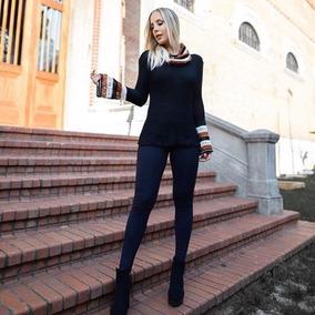 Roupa Feminina Blusa De Tricot Lais M/a Clothes