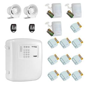 Kit Alarme Residencial Ecp Sem Fio Master 13 Sensores