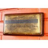Antigua Chapa Profesional Contador Público Nacional Bronce