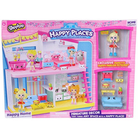 Shopkins Happy Places Casa Con Muñeca Y Accesorios Tv Educan