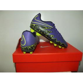 Chuteira Nike Campo Jr Hipervenom Phade 2 No 31 Produto Novo 348f19101baec