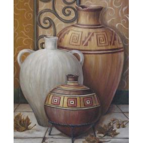 cuadros rsticos y modernos de jarrones y vasijas 30 x 40 - Jarrones Modernos