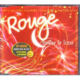Cd Rouge Brilha La Luna Single Promocional Novo Lacrado Raro