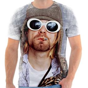 Camiseta, Camisa Nirvana Kurt Cobain Banda De Rock 9