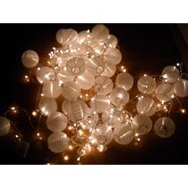 Guirnaldas De Luces Blancas Cálidas!!! 10 Metros