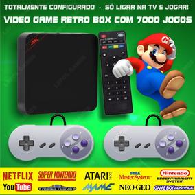 Video Game Retro Box - Multijogos Com 7000 Jogos Antigos