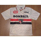 Camisa Do São Paulo adidas Rara Infantil Antiga Anos 1990-01